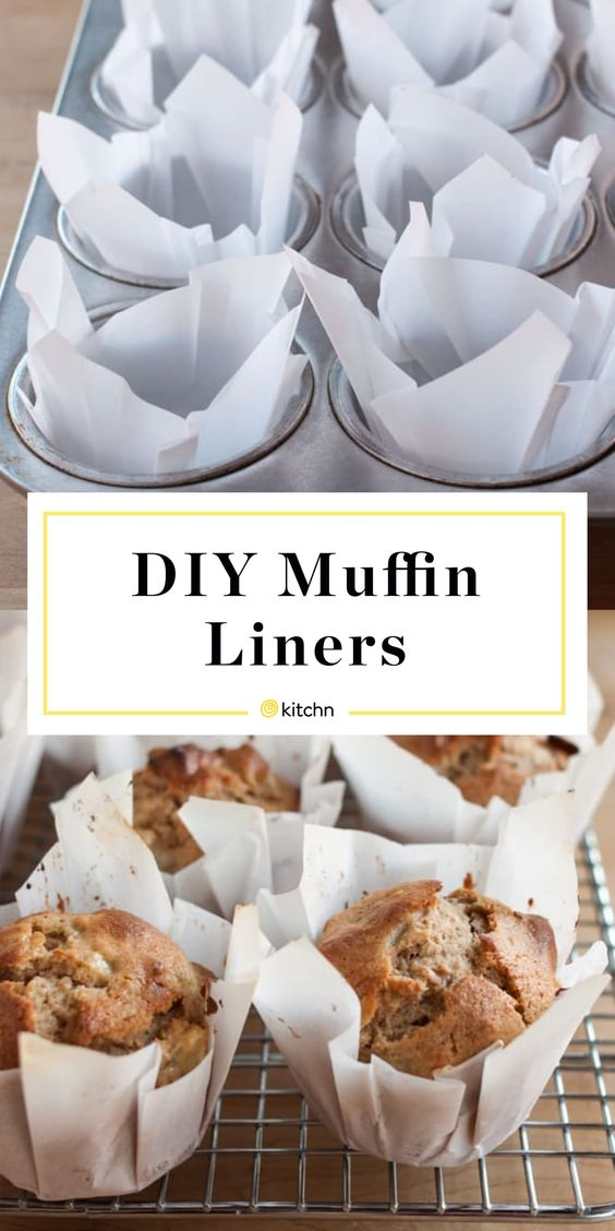 How To Make Muffin Liners Out of Parchment Paper