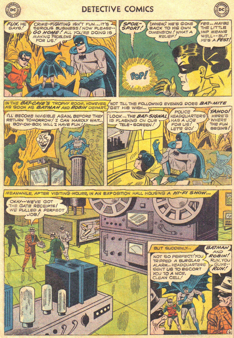 Read online Detective Comics (1937) comic -  Issue #267 - 8