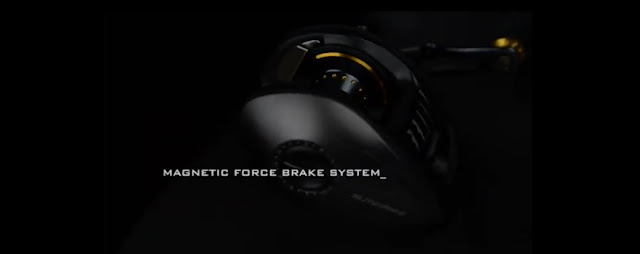 reel blitzkrieg ultra hyper speed - brake system