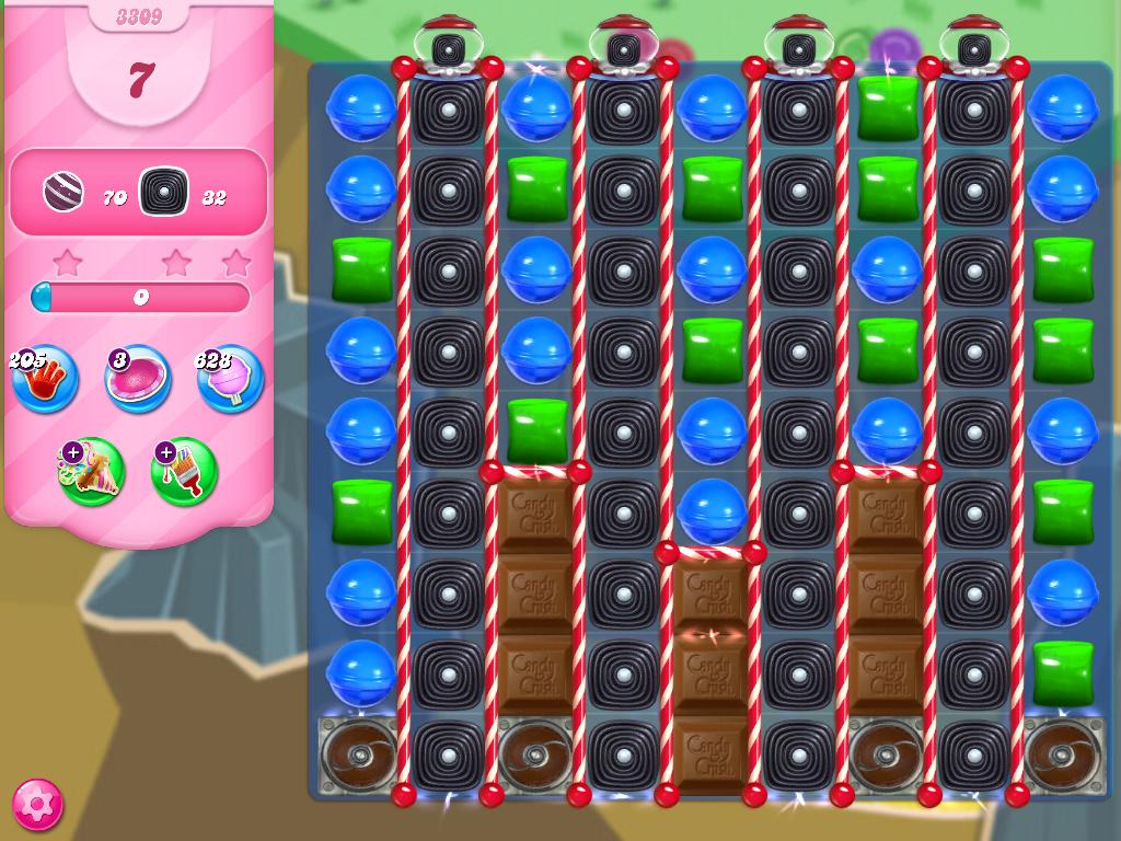 Candy Crush Saga level 3309