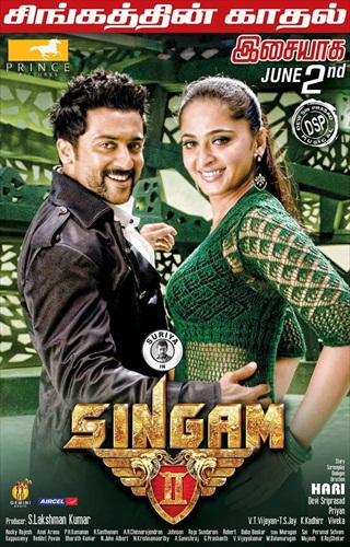 Singam 2 2013 480p BRRip Download