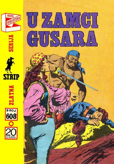 U zamci Gusara - Komandant Mark