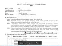 Download RPP Kurikulum 2013 SD Full Lengkap Semua Kelas