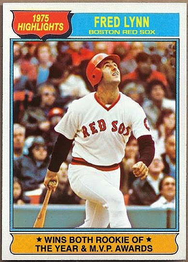 Johns Big League Baseball Blog My Favorite Boston Red Sox Fred Lynn