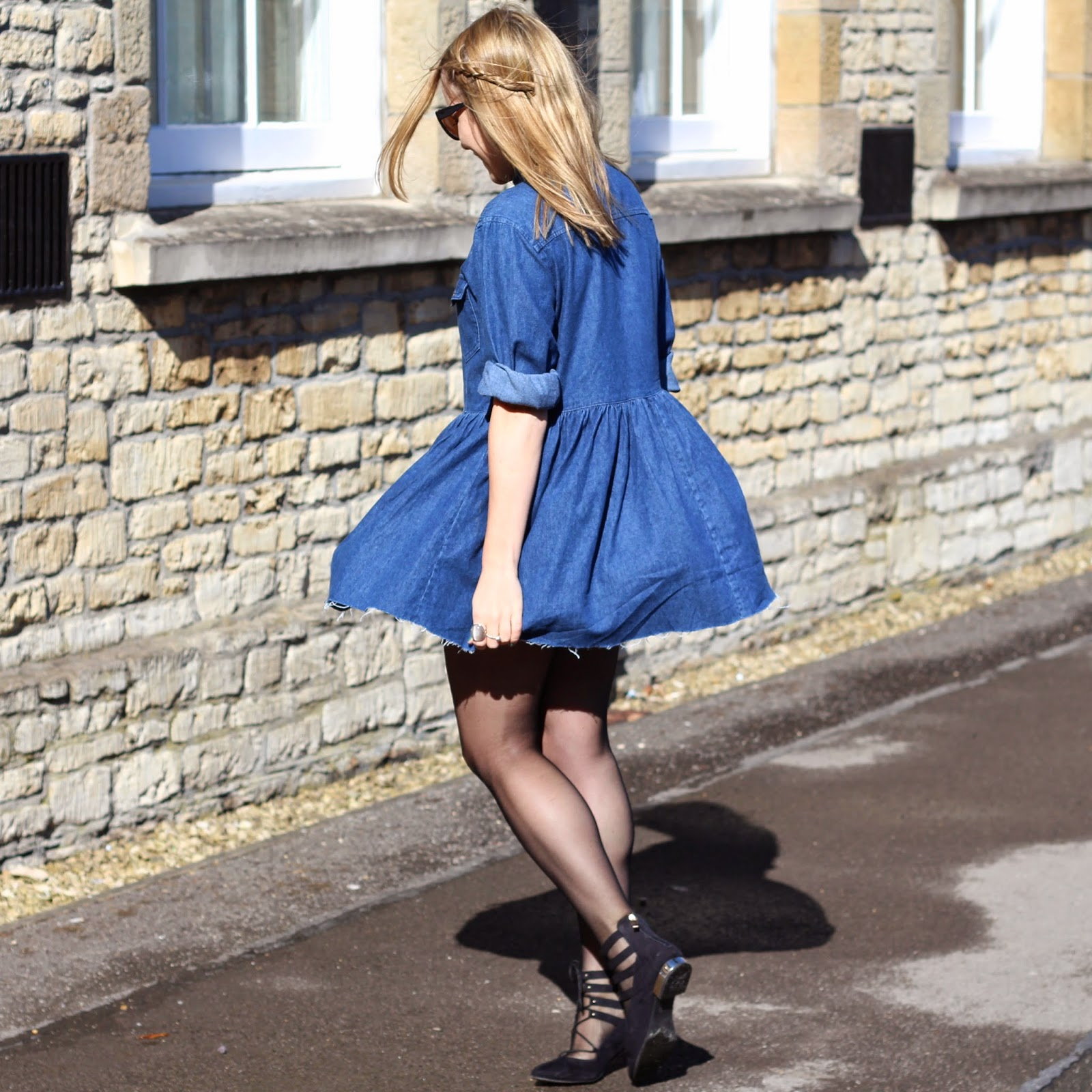 Oxfam Denim Dress