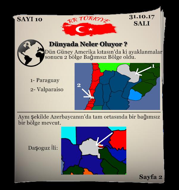 Rival Regions Türkiye 10. sayısı