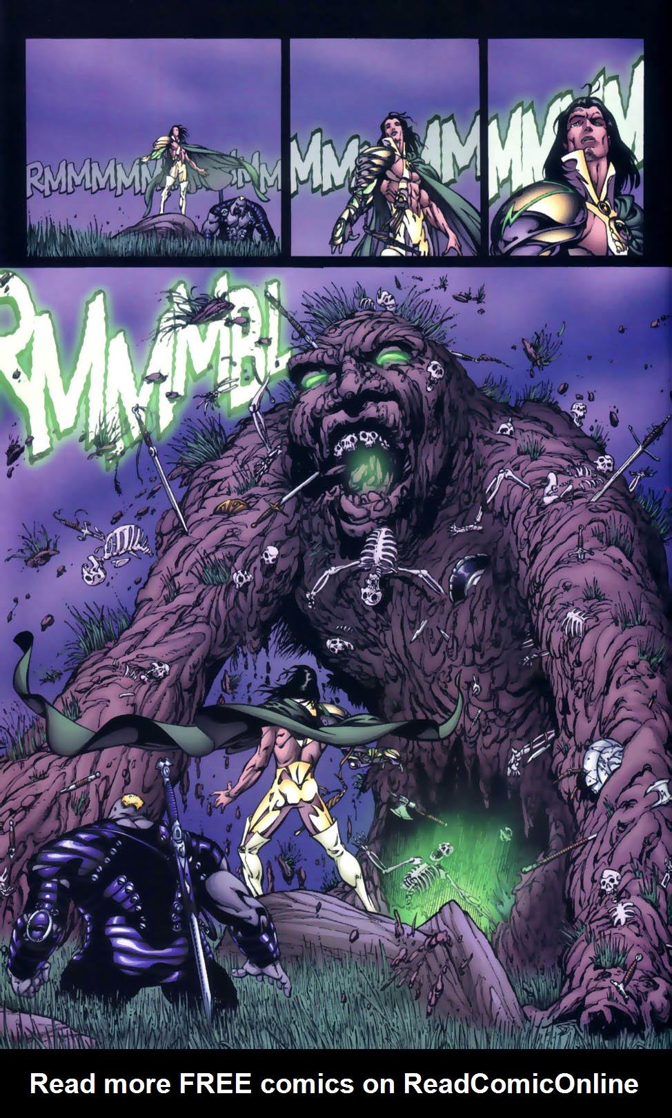 Read online Sigil (2000) comic -  Issue #4 - 29