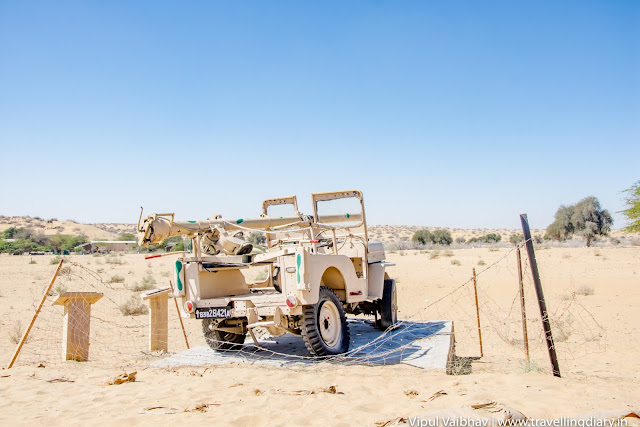 Longewala captured jeep