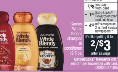 Tresemme, Suave & Garnier CVS Deal - Only $0.75 - 5/12-5/18