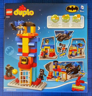LEGO DUPLO Batcave Adventure set 10545 box rear