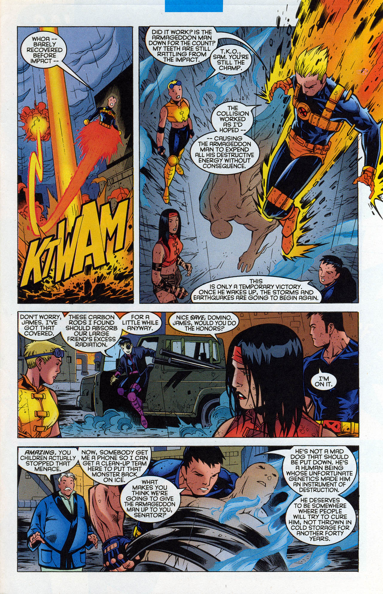 Read online X-Force (1991) comic -  Issue #90 - 24
