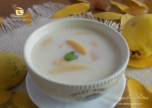 Reteta supa de gutui, mere gutui. gutui