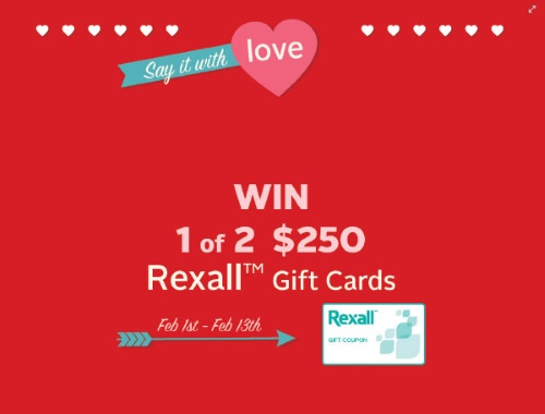 Rexall Pharma Plus Say It With Love Contest