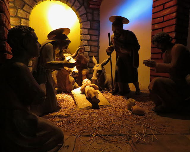Nativity scene, church of Snta Caterina, Livorno