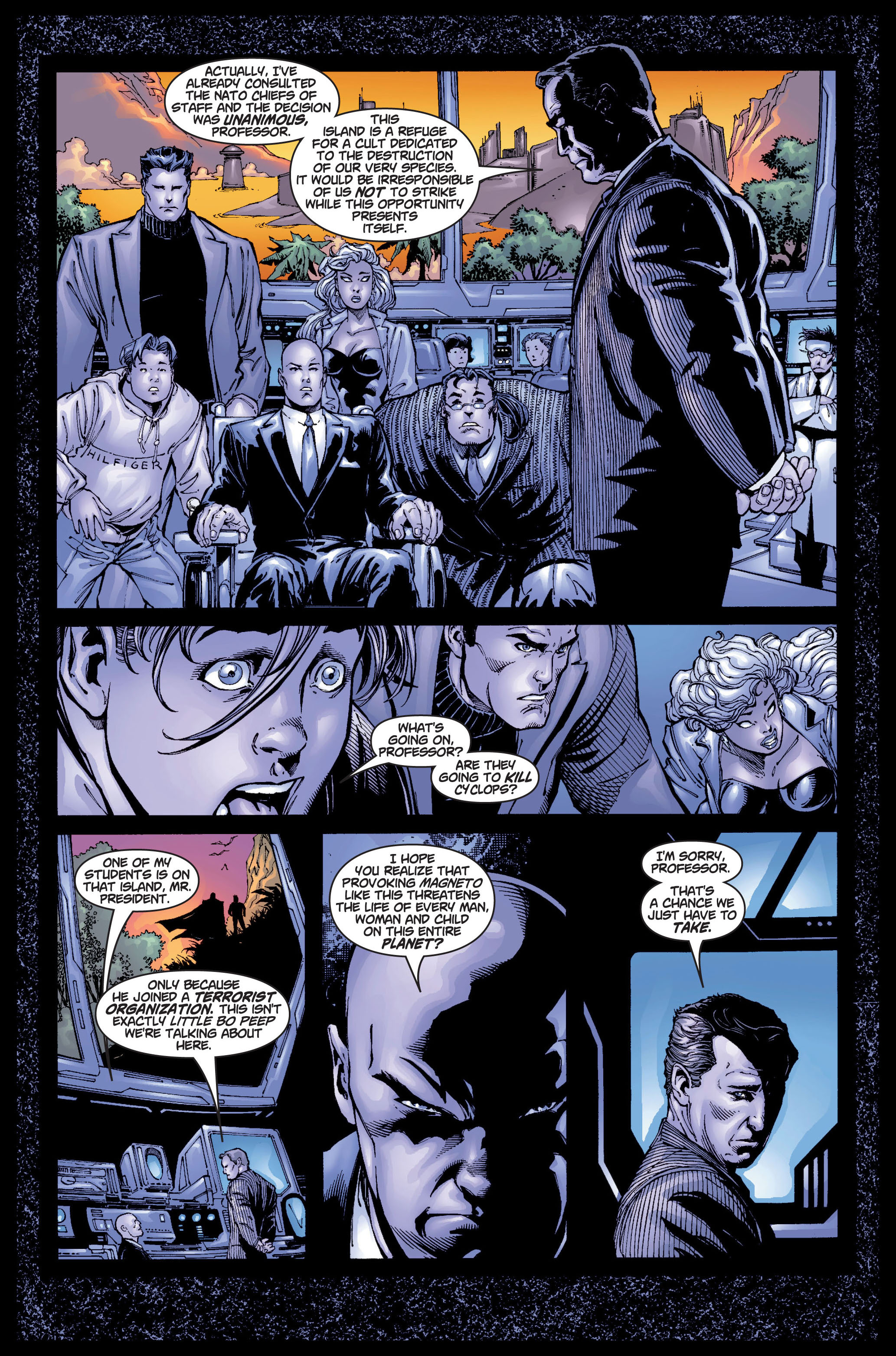 Read online Ultimate X-Men comic -  Issue #5 - 9