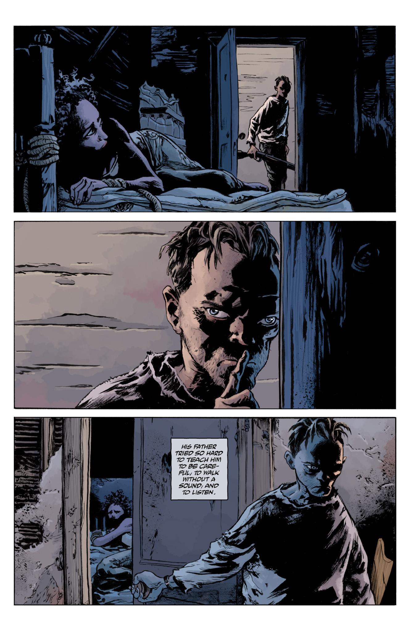 Read online Abe Sapien comic -  Issue #12 - 14