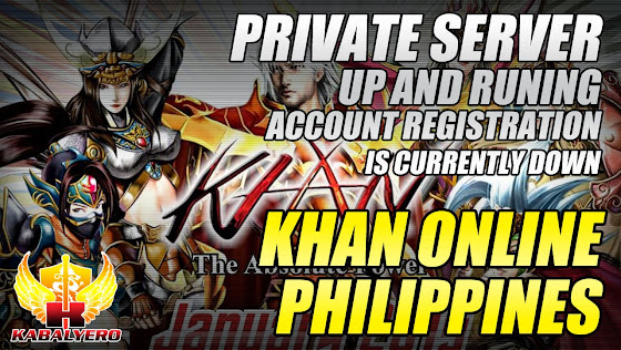 Khan Online Philippines, Private Server, Up And Running