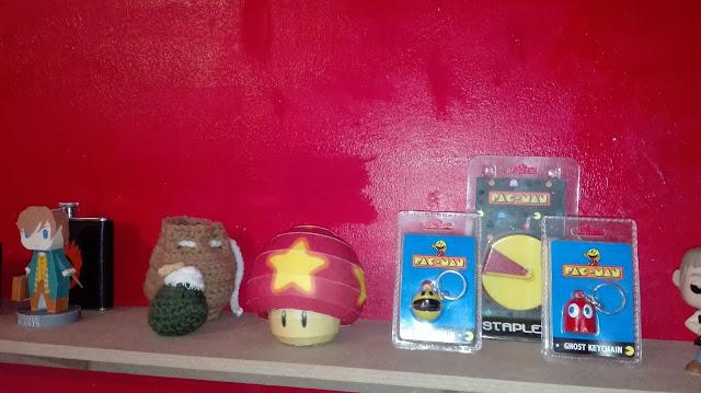 papercraft de Mario, champi géant