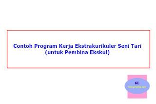 Program Kerja Ekstrakurikuler Seni Tari (untuk Pembina Ekskul di SD/SMP/SMA/SMK)