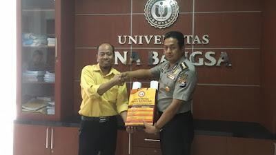 Karo SDM Polda Banten Sambang Kamtibmas ke Universitas Bina Bangsa