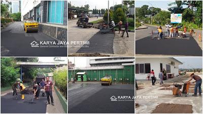 Jasa Pengaspalan Hotmix, di wilayah Bogor Jakarta Bandung Bekasi Tangerang Depok Banten Serang Subang Karawang Purwakarta Cikarang