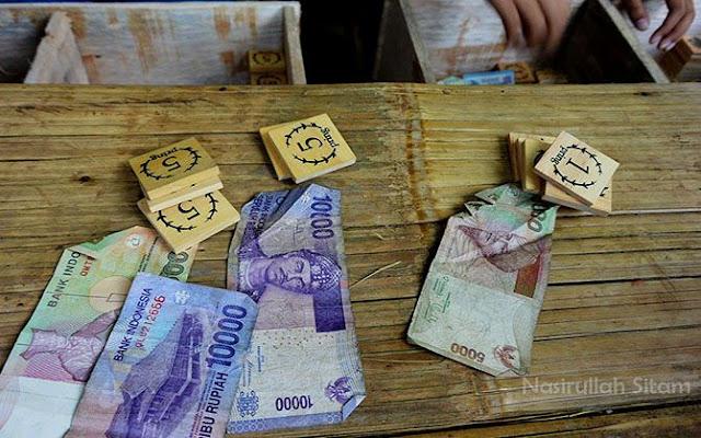 Ini uang unik dari Pasar Papringan Temanggung, namanya Pring