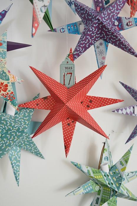 gwiazda z papieru, dekoracje świąteczne, boże narodzenie, dekoracje diy, dekoracje z papieru
