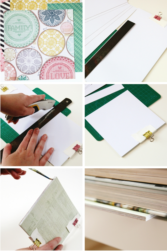 How to make your own perfect bound notebook