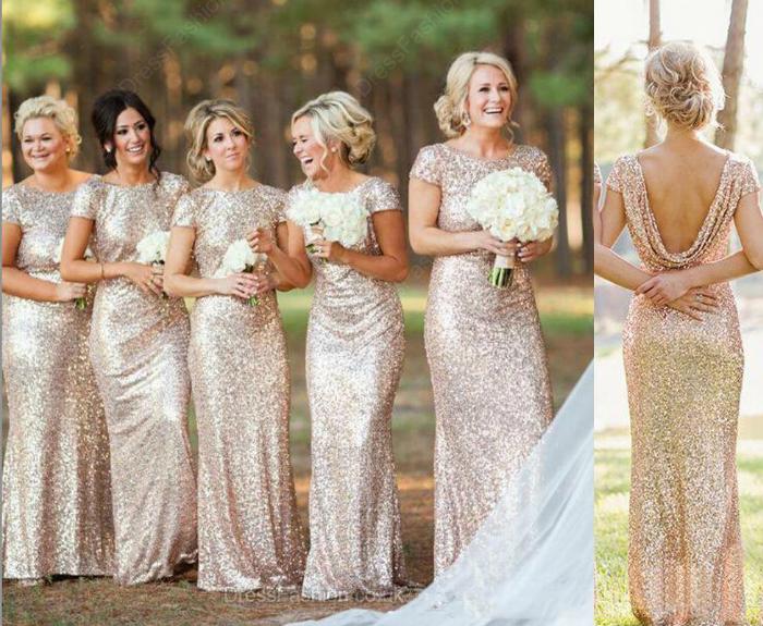 Vestidos de madrinhas iguais, vestidos de madrinha com glitter, vestido com decote nas costas, vestido com brilho