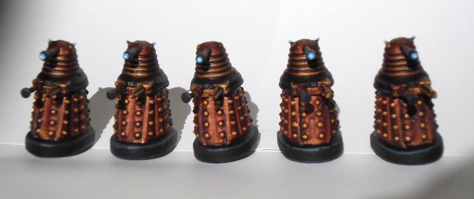 Montyhaul S Models Daleks Greenskins And Bits And Bobs