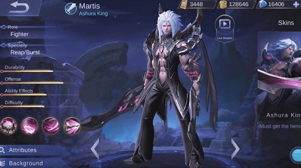 Skill Hero Martis Mobile Legends Yang Ditanggung OP (Over Power)