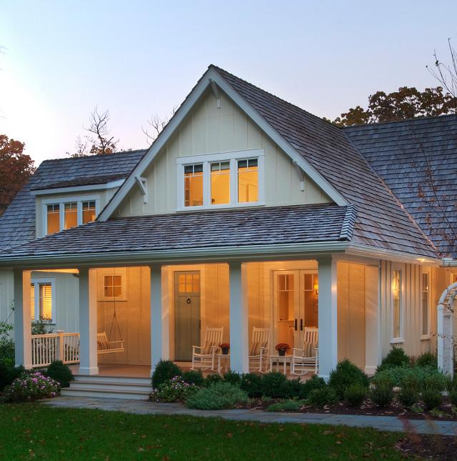 Lakefront Homes: New Home Interior Design: Lakefront Cottage