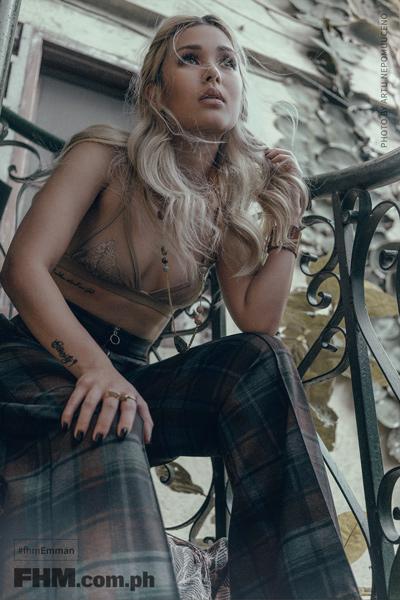 Emmanuelle Vera & Julz Savard FHM's February 2017 Cover Girls