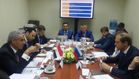 وزارة التجارة تنتهي من وضع التصور النهائى لتصميم المنطقة الصناعية الروسية بمصر