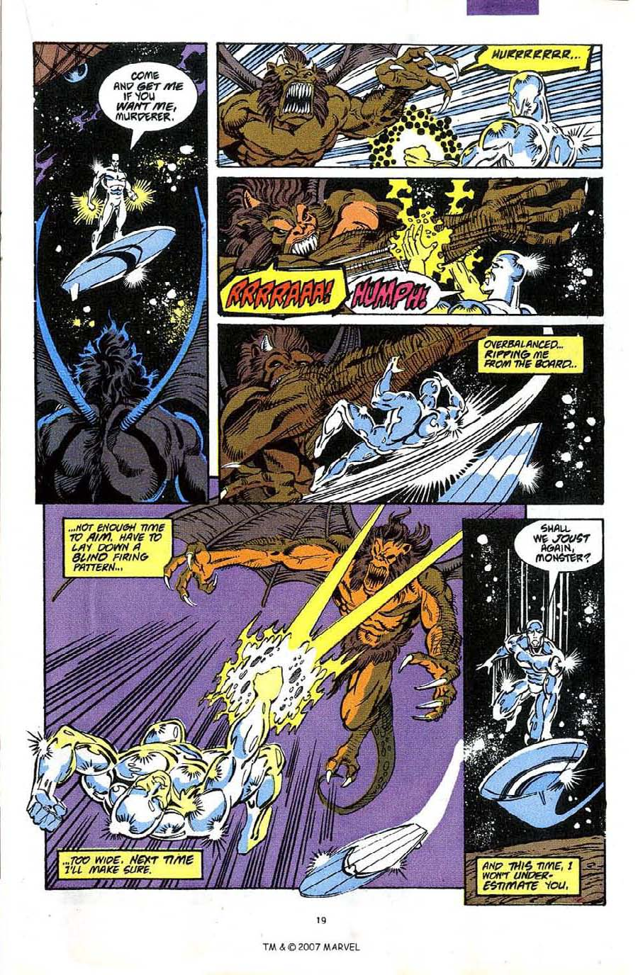 Read online Silver Surfer (1987) comic -  Issue #49 - 21