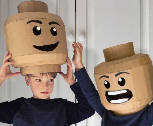 Ma Maison Est En Carton 25 Idees Pour Creer Facilement Un Deguisement En Carton