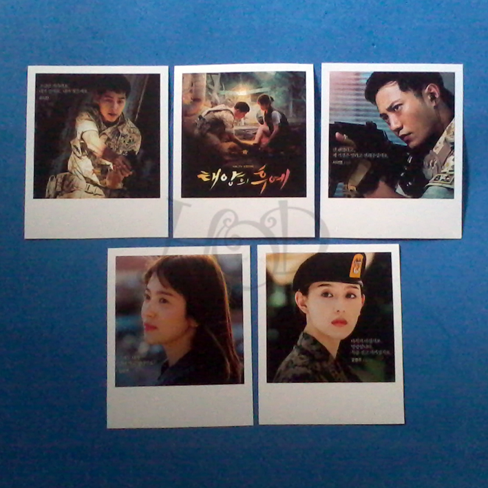 POLAROID, POLAROID CUSTOM, POSTER POLAROID, POSTER POLAROID CUSTOM, POLAROID MINI, POLAROID FRAME CASE, POLAROID DESCENDANTS OF THE SUN, POLAROID SONG JOONG KI, POLAROID SONG HYE KYU, POLAROID DRAMA KOREA