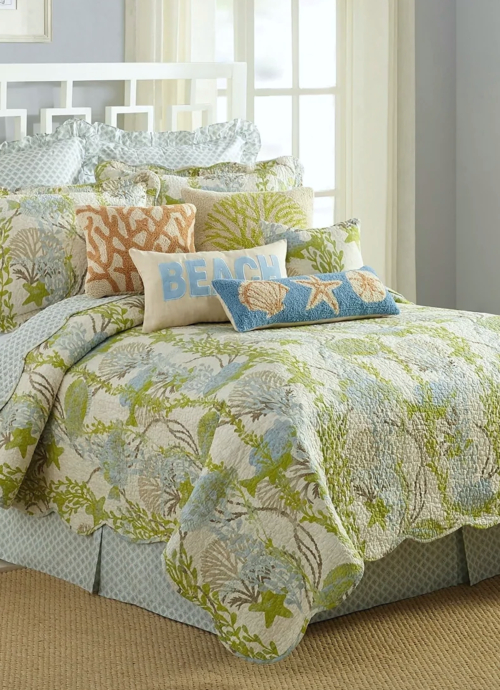 Green Under the Sea Ocean Quilt