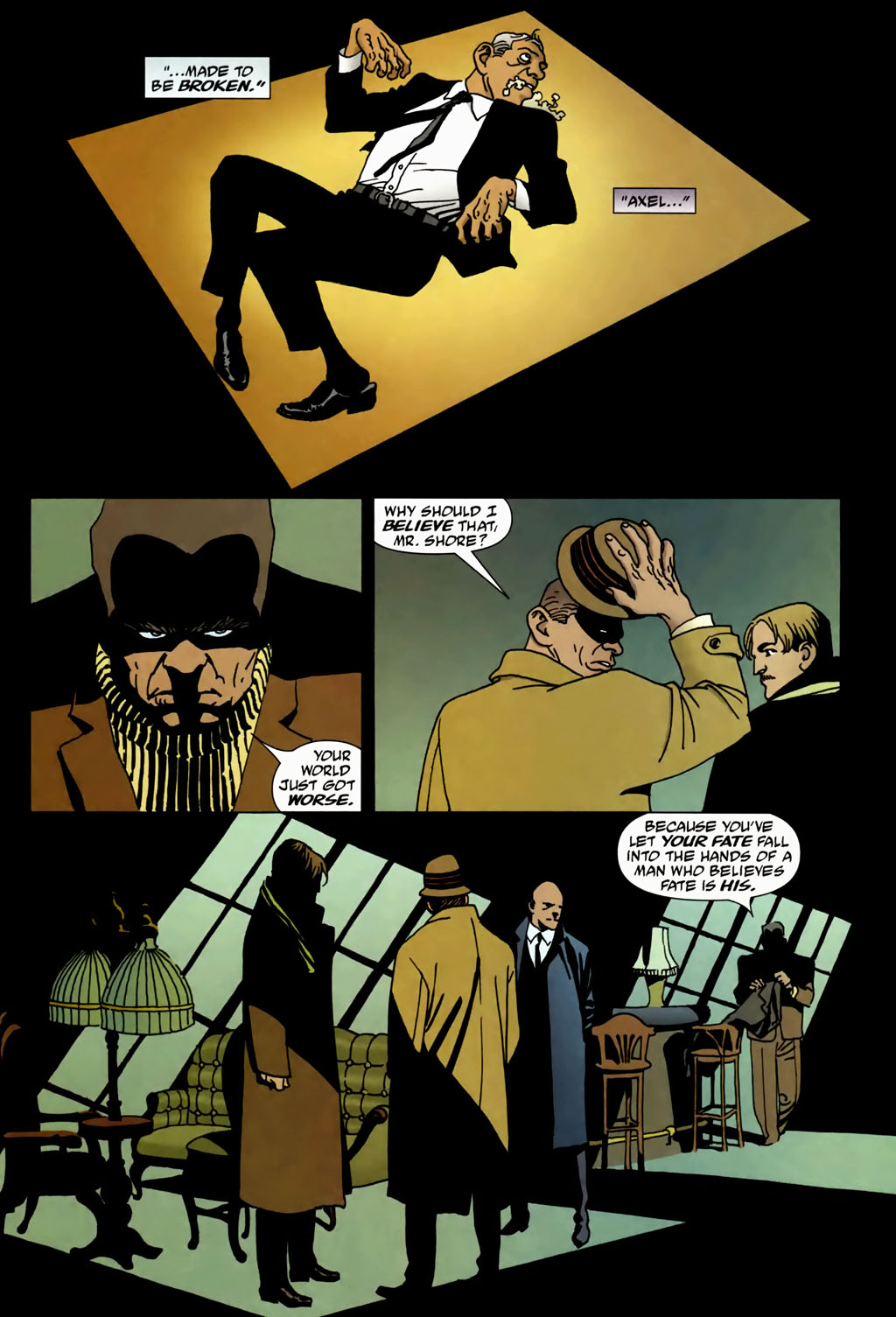 Read online 100 Bullets comic -  Issue #69 - 20