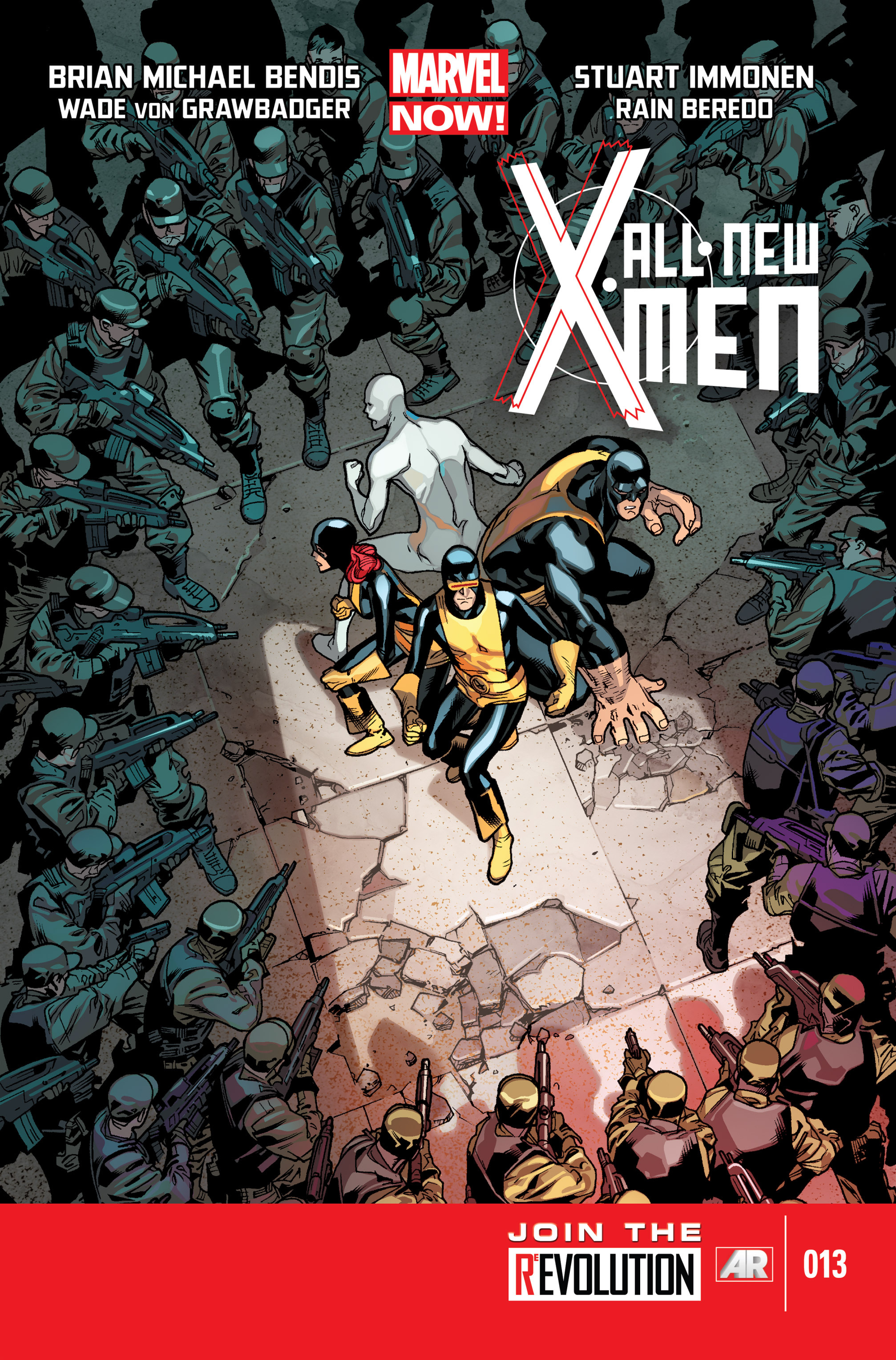 Read online All-New X-Men (2013) comic -  Issue # _Special - Out Of Their Depth - 48