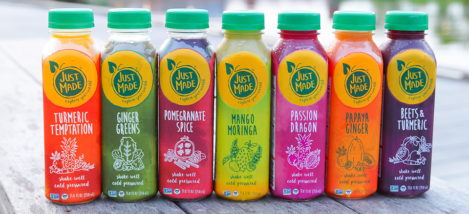 The Weekend Gourmet: Spotlight on Just Made Juices   and a #Giveaway!