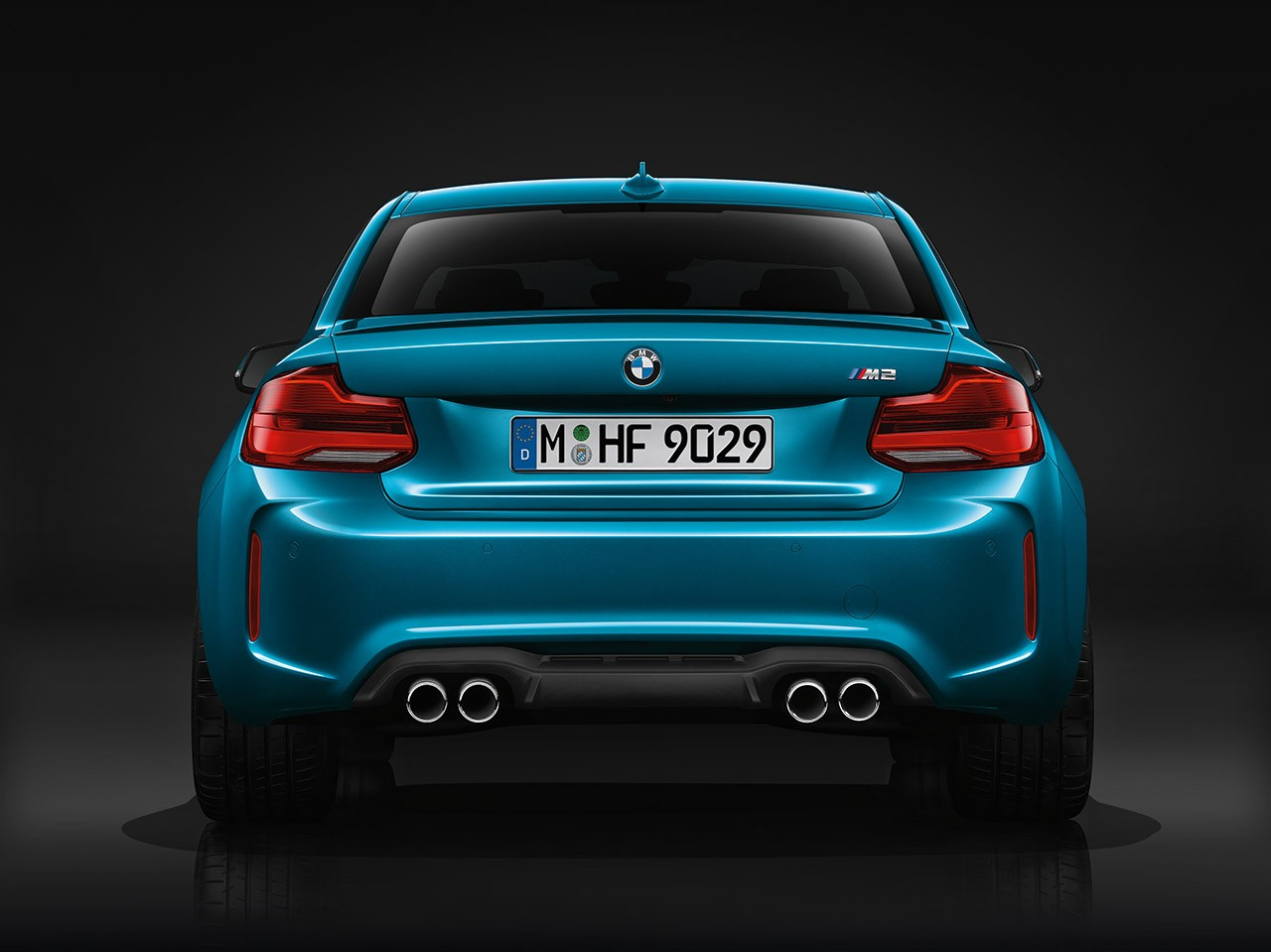2018 BMW 2 Series rearview