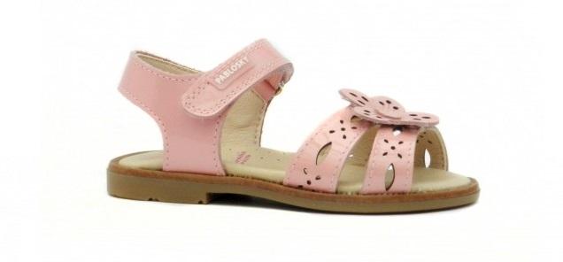 sandalias rosa pablosky