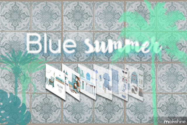 Blue summer inspo