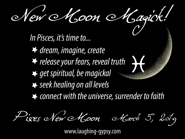 Laughing Gypsy: Pisces New Moon 2019: Awakening to the New Earth