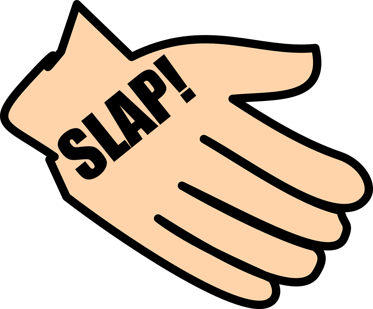 slapping art