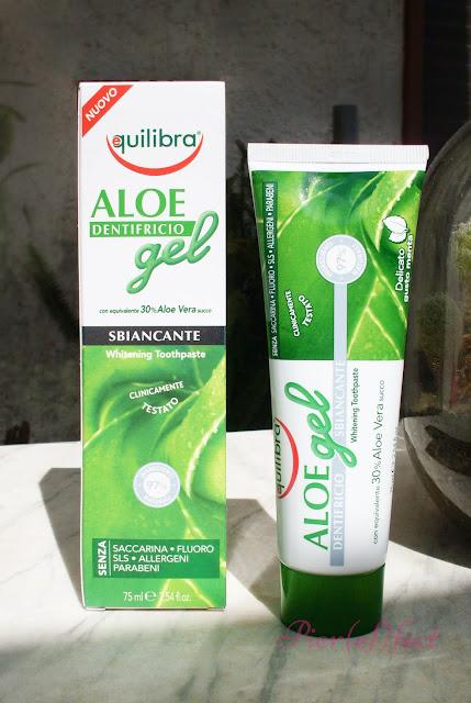 Equilibra - Aloe Gel Dentifricio Sbiancante