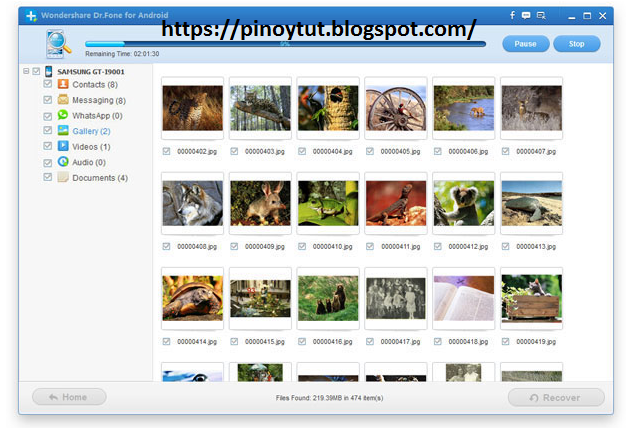 Most effective method to retrieve your video or picture in your android.