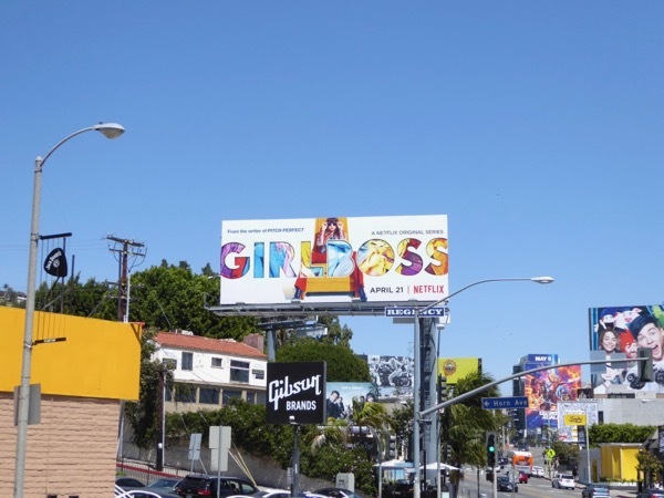 Girlboss Netflix billboard