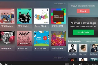Joox Music Premium Apk v4.5 (Mod Unlimited VIP) For Android
